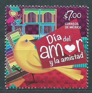Mexico Mail 2017 Yvert 3029 MNH Day Love And Friendship