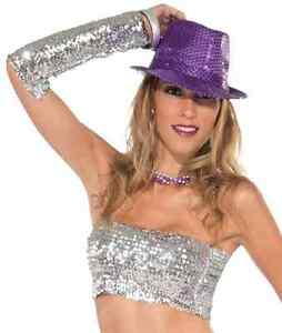 Sequin Tube Top Club Rave Dance Party Halloween Adult Costume Accessory 4 COLORS