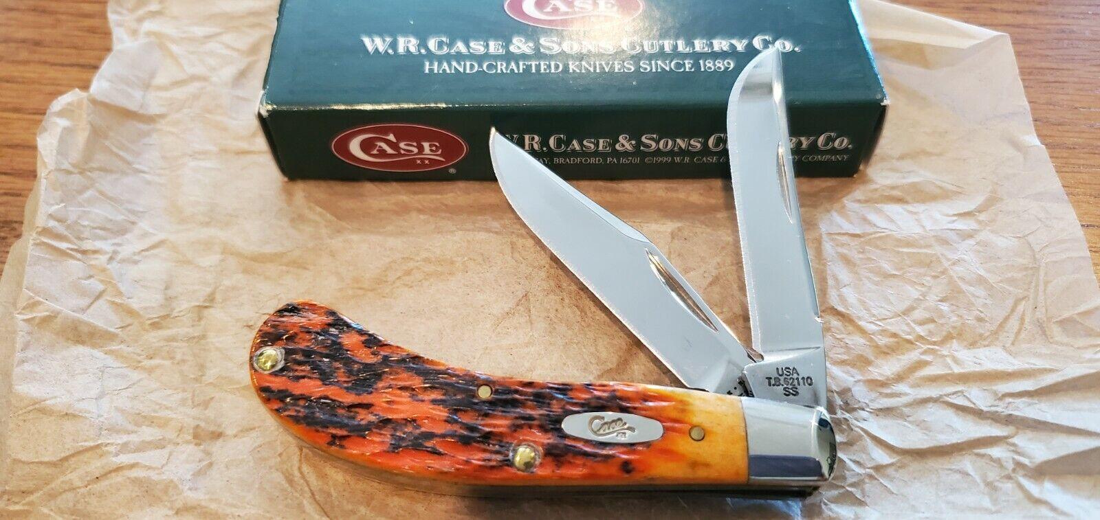 Case XX Small Saddlehorn Knife Autumn Tony Bose NOS 2004