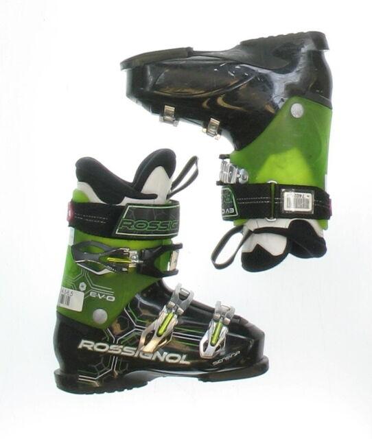 Used Rossignol Evo Sensor RTL Black & Green Ski Boots Men's