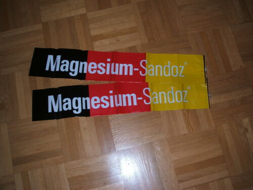 ca.10cm x 60cm unbenutzt 2 aufblasbare Applaus/Klatsch-Stäbe schwarz/rot/gold