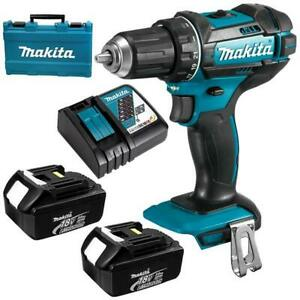 Details about CLEARANCE Makita DHP482RFE 18V Li-ion Combi Drill 2 Speed  DHP482RFE