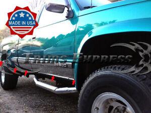 88-98-Chevy-GMC-C-K-Pickup-Extended-Cab-Short-Bed-Rocker-Panel-Trim-6-25-034-W-F