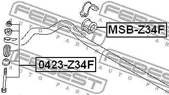 Stabilisateur Montage Febest MSB-Z34F