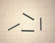 4 x Druckfeder, L. 15mm, Außen Ø2mm, Drahtstärke 0,25mm mini, klein, Modellbau