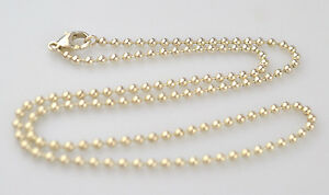 STERLING-SILVER-18-034-BEAD-CHAIN-NECKLACE-WITH-TINY-2-5-MILLIMETER-BALLS-7-6-GRAMS