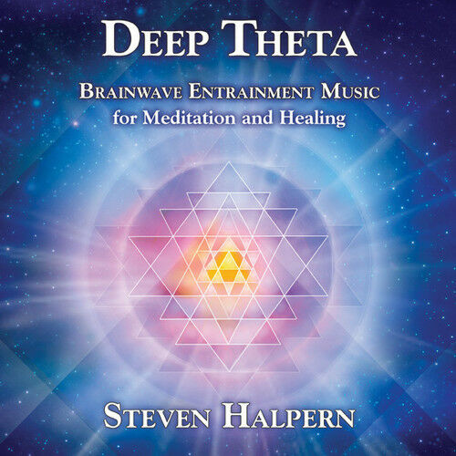 Steven Halpern - Deep Theta: Brainwave Entrainment Music For [New CD] Jewel Case