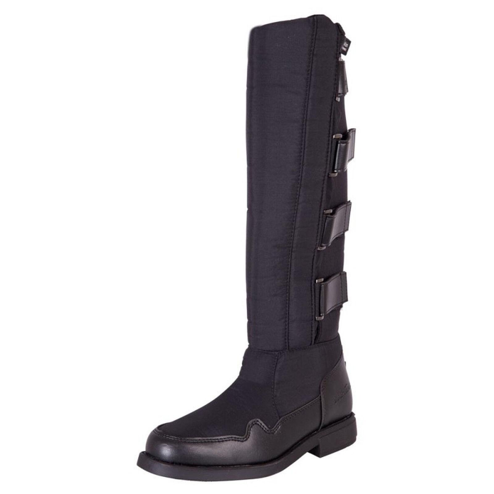 Premiere Winter-Reitstiefel schwarz Gr 38 - 42 wärmend, wasserabweisender Fuß  | Spielzeugwelt, spielen Sie Ihre eigene Welt  | Quality First  | Fairer Preis