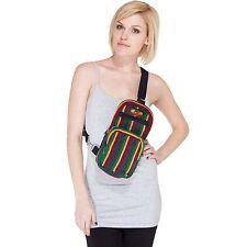Natural Eco Boho Rasta JAH Crossbody Travel bag-90432