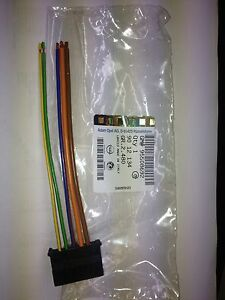 vauxhall corsa d heater resistor wiring harness repair kit genuine image is loading vauxhall corsa d heater resistor wiring harness repair