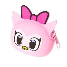 Tokidoki Pink Owl Silicone Coin Purse Neon Star NWT