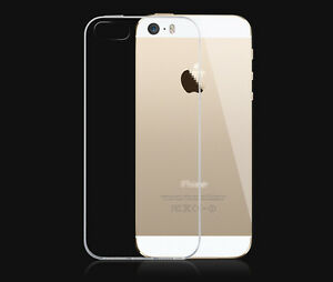 Ultra-Clear-Transparent-Soft-Gel-Cover-Case-for-Apple-iPhone-5-5S-Screen-Film
