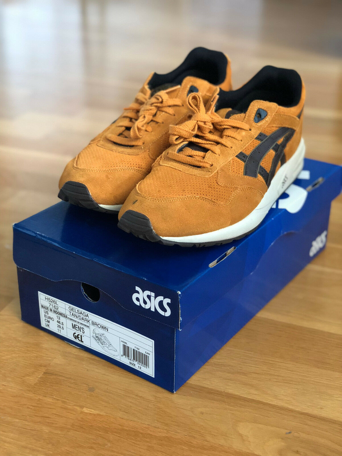 ASICS Gel-Saga  Nubuck Curry