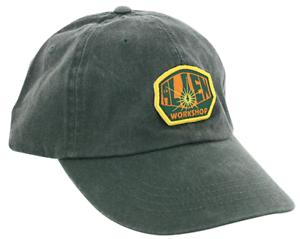 Alien Workshop Skateboards OG Logo Overwashed Green Strapback Hat