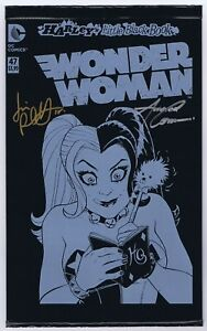 Wonder-Woman-47-Black-Bag-NM-Signed-w-COA-by-Amanda-Conner-Jimmy-Palmiotti