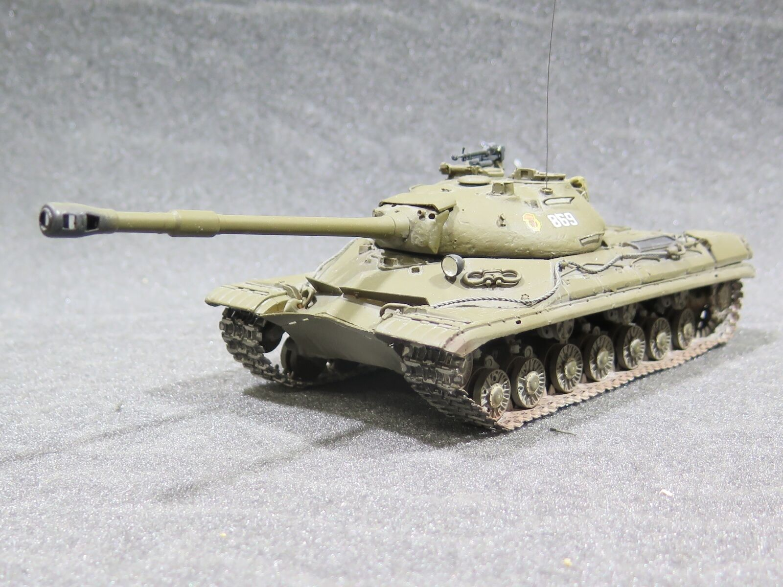 MI0773 1 35 PRO BUILT - Resin Navigator Soviet T-10A Heavy Tank