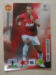 9b039fd5786 Image is loading Champions-League-2012-13-Fans-Favourite-card-Rio-