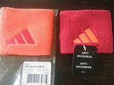 NWT Adidas 1 pair Unisex Tennis Running Training  wristbands terry Loop