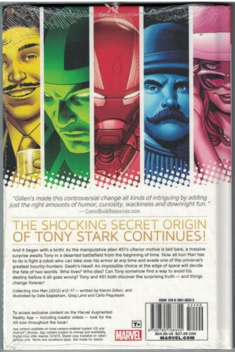 IRON MAN Vol 3 SECRET ORIGIN OF TONY STARK Book 2 HC Hardcover $24.99srp SEALED