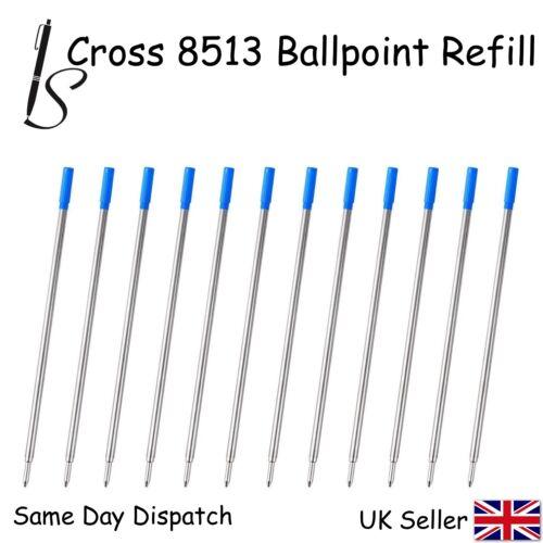 BLUE X12 CROSS COMPATIBLE 8513 BALL POINT PEN REFILL INK