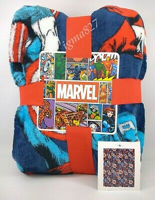 Marvel Avengers Soft Fleece Throw couverture décoration maison 120 cm x 150 cm Primark