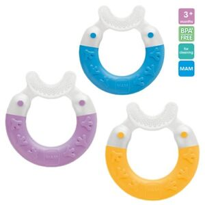 MAM Bite and Brush Baby Teether Can be used with teething gel 3 months + 898FOpra-07194610-864868239