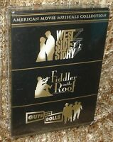 9american Movie Musicals Collection 3-disc Dvd Box Set, & Sealed, Rare &