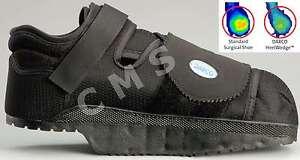 6fdc2790a6e4 DARCO HeelWedge Healing Off-Loading Shoe Black Post-Op Square Toe ...