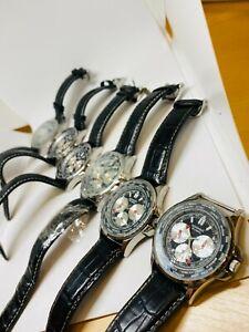 Lote de Trabajo de 7x relojes de hombre Sekonda N3458 APT Repuesto/Reparación, leer descripción