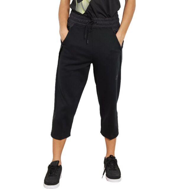Nike Sportswear Tech Fleece Women S Comfortable Crop Pants Black 831711 010 For Sale Online