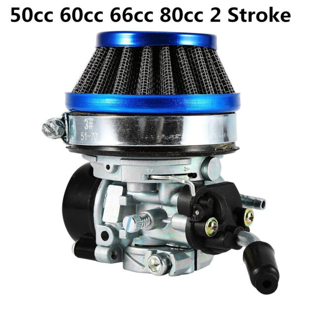 Racing Carburetor Filter Carb Jets ASSY 50-80cc 2 Stroke for Motorized  Bicycle