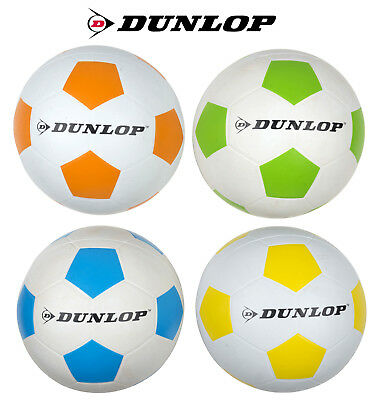 Dunlop Fußball Ball Größe 5 Spielball Trainigsball Wasserbälle Sport Outdoor