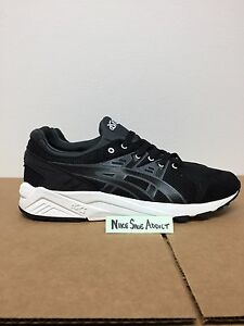 gel kayano trainer triple black