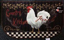 Rooster Kitchen Rug 18 1/4\