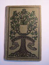 Familien-Stammbuch der Familie Wistuba - ab 1919