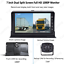 7-034-Dual-Split-1080P-Monitor-Dual-Camera-DVR-Front-RearView-For-Truck-Caravan-Bus thumbnail 2