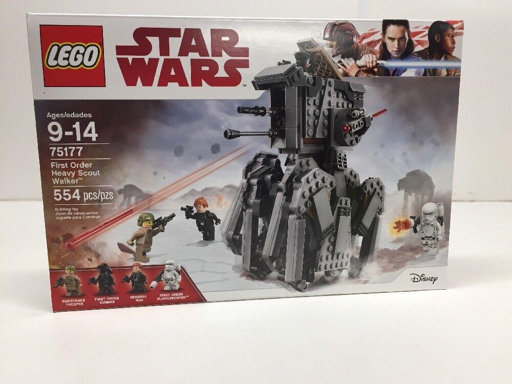 New LEGO Star Wars 75177 First Order Order Order Heavy Scout Walker NISB NIB 412b62