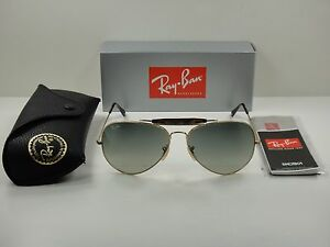 a4be9722f RAY-BAN OUTDOORSMAN SUNGLASSES RB3029 181/71 GOLD & HAVANA /GREY ...