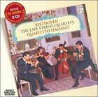 Beethoven: The Late String Quartets (CD, Sep-2007, 3 Discs, Philips)