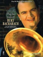 Play the Music of Burt Bacharach [With CD (Audio)], New,  Book
