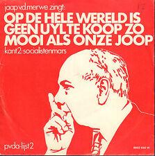"JAAP v.d. MERWE – Op De Hele Wereld Is Geen Uyl Te Koop (1973 SINGLE 7"")"