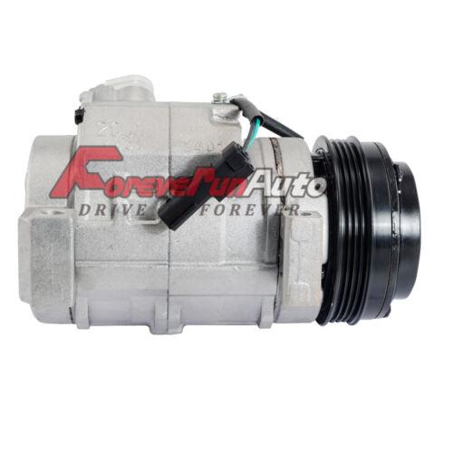 A//C Compressor Fits Escalade,Tahoe,Suburban,GMC Yukon w//rear AC 6.2L 6.0L 5.0L
