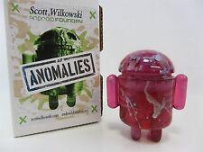 Scott Wilkowski INFECTED ANDROID ANOMALIES resin Pink w/ silver splatter sparkle