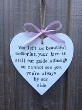 Personalised Wedding Remembrance Family Loved Ones Death Remembering Plaque Sign
