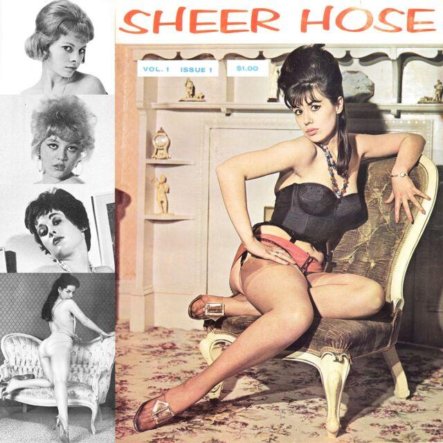 Sheer Hose WWNC Sampson Black Stocking Parade Pin-Up Vicky Kennedy E-books on CD