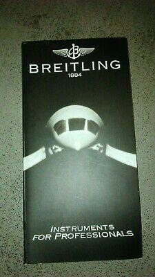 Breitling Katalog, 06/96, Hochglanz, -ohne Preisliste Weich Und Rutschhemmend