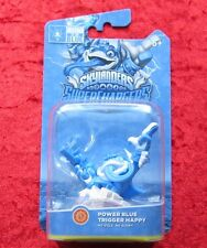 Power Blue Trigger Happy Skylanders SuperChargers, Skylander Figur Neu-OVP