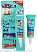 T-zone Rapid Action Spot Zapping Gel 8ml :tea Tree, Witch Hazel, Salicylic Acid:
