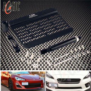 For-Subaru-BRZ-2013-up-Bumper-Tow-Hook-License-Plate-Mounting-Bracket-Holder