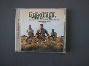 CD-Music-From-The-Motion-Picture-O-BROTHER-WHERE-ART-THOU-Winner-Of-Five-Grammy
